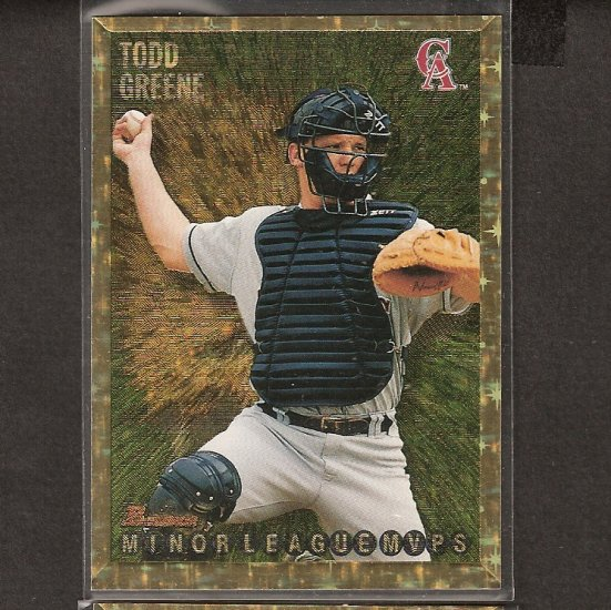 TODD GREENE - 1995 Bowman GOLD - Los Angeles Angels