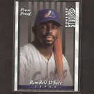 RONDELL WHITE - 1997 Donruss Studio Press Proof - Montreal Expos