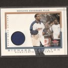 RICHARD RIP HAMILTON 2001-02 Ultra Game-Used Jersey - UConn/Pistons