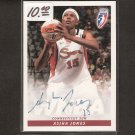 ASJHA JONES 2007 Autograph ROOKIE - WNBA & UConn Huskies