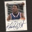 KHALID EL-AMIN 2000 SP Top Prospects Rookie Autograph - UConn Huskies