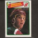 BRENDAN SHANAHAN 1988-89 O-Pee-Chee Rookie - New Jersey Devils