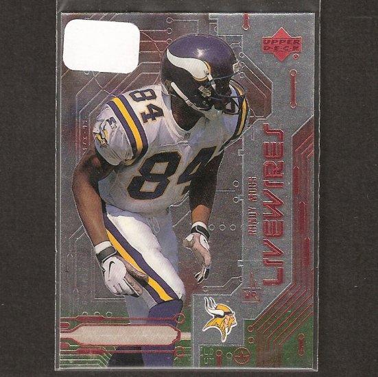 RANDY MOSS 1999 Upper Deck Livewires- New England Patriots