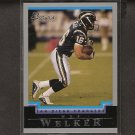 WES WELKER 2004 Bowman RC - Texas Tech & Patriots