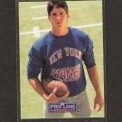 ED McCAFFREY 1991 Proline Portraits Rookie - NY Giants & Broncos