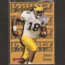 AMANI TOOMER 1996 Skybox Impact Rookie - Michigan Wolverines & NY Giants