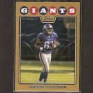 AMANI TOOMER 2008 Topps GOLD - NY Giants & Michigan Wolverines