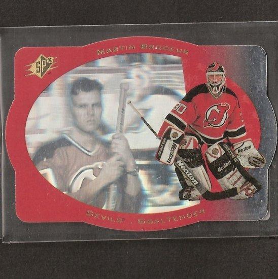 MARTIN BRODEUR 1996-97 SPx - New Jersey Devils