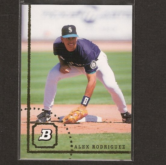 ALEX RODRIGUEZ - 2005 Bowman, Missing Years Set - 1994, 1995, 1996, 1997 - Yankees