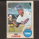 ROD CAREW - 1968 Topps 2nd Year NM - Twins & Angels