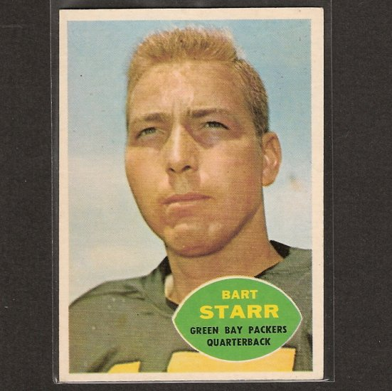 BART STARR - 1960 Topps NM - Green Bay Packers & Alabama Crimson Tide
