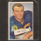 TOM FEARS - 1952 Bowman small - LA Rams & UCLA Bruins