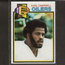 EARL CAMPBELL - 1979 Topps RC NM-Mint - Longhorns & Oilers