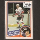 PAT LaFONTAINE - 1984-85 O-Pee-Chee ROOKIE CARD - Islanders, Sabres, Rangers