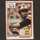 EDDIE MURRAY 1978 O-Pee-Chee RC - Baltimore Orioles