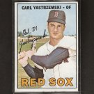 CARL YASTRZEMSKI 1967 Topps Triple Crown Year - Boston Red Sox