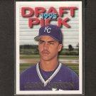JUAN LeBRON/CARLOS BELTRAN - 1995 Topps Traded ROOKIE - NY Mets
