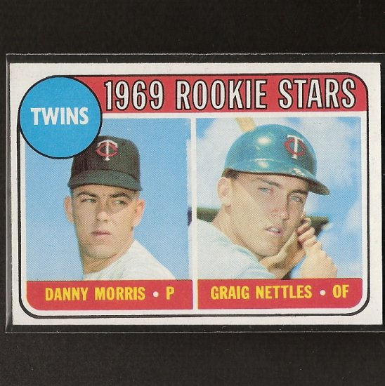 GRAIG NETTLES 1969 Topps Rookie Card - NY Yankees