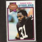 DONNIE SHELL - 1979 Topps RC Near-Mint - Pittsburgh Steelers & SC State