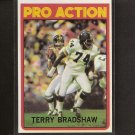 TERRY BRADSHAW - 1972 Topps In Action SECOND YEAR - Pittsburgh Steelers & Louisiana Tech