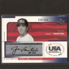 JASON VARITEK - 2004 Upper Deck USA Autograph - Red Sox