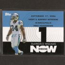 DeANGELO WILLIAMS 2007 Topps Generation Now - Carolina Panthers & Memphis