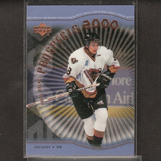 PAVEL BRENDL 1999-00 Upper Deck Young Guns ROOKIE - Flyers, Hurricanes, Coyotes