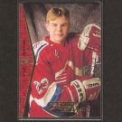 SERGEI SAMSONOV 1994-95 SP ROOKIE - Carolina Hurricanes