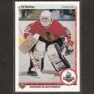 ED BELFOUR 1990-91 Upper Deck ROOKIE - Blackhawks, Stars & Maple Leafs