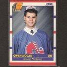 OWEN NOLAN 1990-91 Score ROOKIE - Minnesota Wild, Nordiques, Maple Leafs, Flames