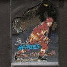 LANNY McDONALD - 1999-00 Topps Stanley Cup Heroes - Calgary Flames