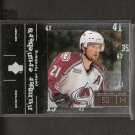 PETER FORSBERG 2000-01 Upper Deck Number Crunchers - Avalanche & Flyers