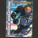 SERGEI GONCHAR 1996-97 Fleer Rookie Sensations - Penguins & Capitals