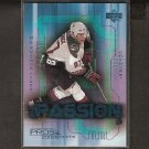 JEREMY ROENICK 2000-01 Pros & Prospects NHL Passion - Blackhawks, Coyotes, Sharks