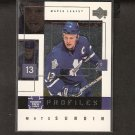 MATS SUNDIN 2000-01 Upper Deck Profiles - Maple Leafs, Nordiques & Canucks