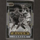ALLEN IVERSON - 1996-97 Bowman's Best RETRO ROOKIE - Georgetown, 76ers, Grizzlies, Nuggets