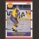 MATS SUNDIN 1990-91 Score Bilingual ROOKIE - Maple Leafs, Nordiques & Canucks