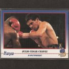 JULIO CESAR CHAVEZ - 1991 Kayo Boxing ROOKIE - Chula Vista, Camexico