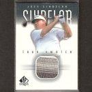 JOEY SINDELAR - 2001 SP Authentic Golf - PGA Tour Swatch
