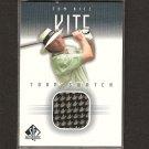 TOM KITE - 2001 SP Authentic Golf - PGA Tour Shirt Swatch