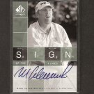 MARK CALCAVECCHIA - 2002 SP Authentic Golf - PGA Signs of the Times AUTOGRAPH
