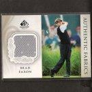 BRAD FAXON - 2004 SP Signature Golf - PGA Authentic Fabrics Shirt Swatch