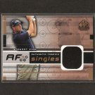 STEWART CINK - 2003 SP Game Used Golf - PGA DUAL Swatch - AUTHENTIC FABRICS SINGLES