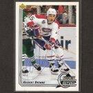 GILBERT DIONNE - Montreal Canadiens - 1992-93 Upper Deck AUTOGRAPH