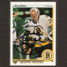 GARRY GALLEY- Bruins, Flyers, Sabres, Kings - 1990-91 Upper Deck AUTOGRAPH