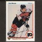 GORD MURPHY - Flyers, Bruins & Blue Jackets - 1990-91 Upper Deck AUTOGRAPH