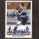 DARIUS KASPARAITIS - Islanders, Penguins & Rangers - 1992-93 Upper Deck AUTOGRAPH Rookie