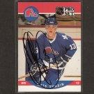 MATS SUNDIN - Quebec Nordiques & Maple Leafs - 1990-91 Pro Set  AUTOGRAPH Rookie