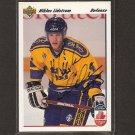 NIKLAS LIDSTROM - Detroit Red Wings - 1991-92 Upper Deck AUTOGRAPH Rookie