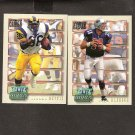 1993 Power Football Update GOLD ROOKIE Complete Set - Trent Green, Bettis, Strahan + MORE